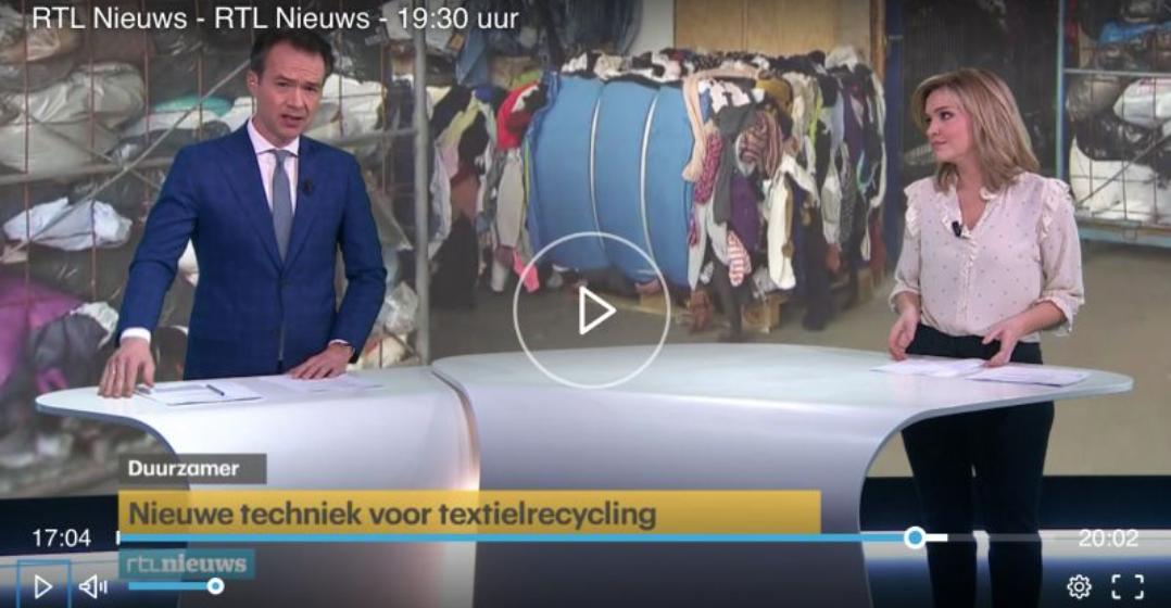 TexPlus op het RTL Nieuws van 19:30